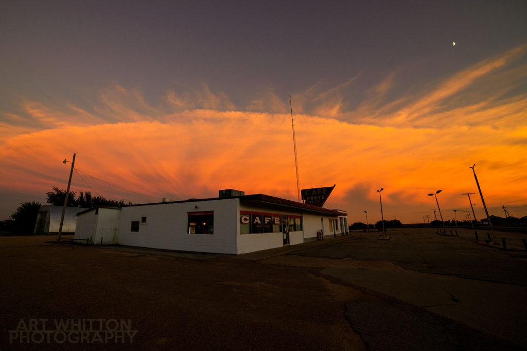 Footes Cafe in Chester Nebraska