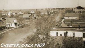 Chester Nebraska town_view_1907