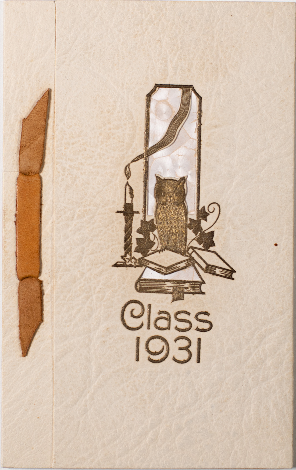 1931 High School Commencement Invitation Image