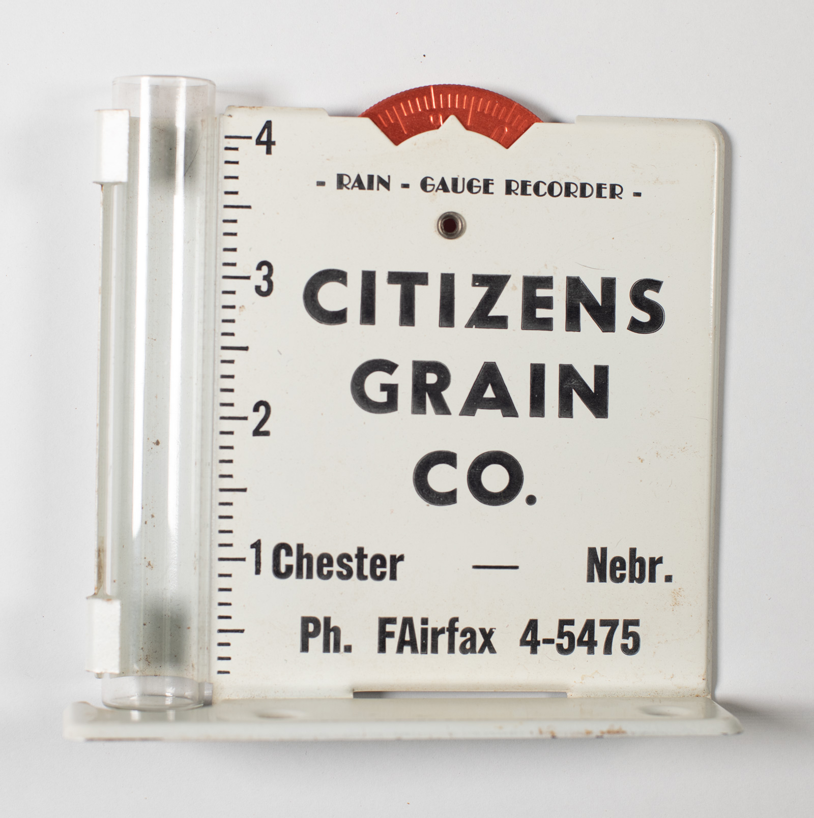 Citizens Grain Co -Rain Gauge Image