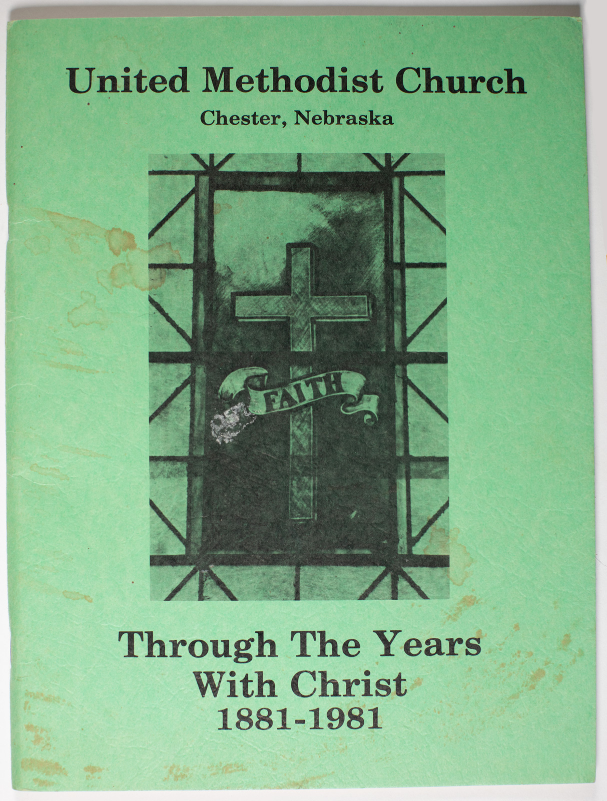 UMC - Through the Years with Christ Book Image